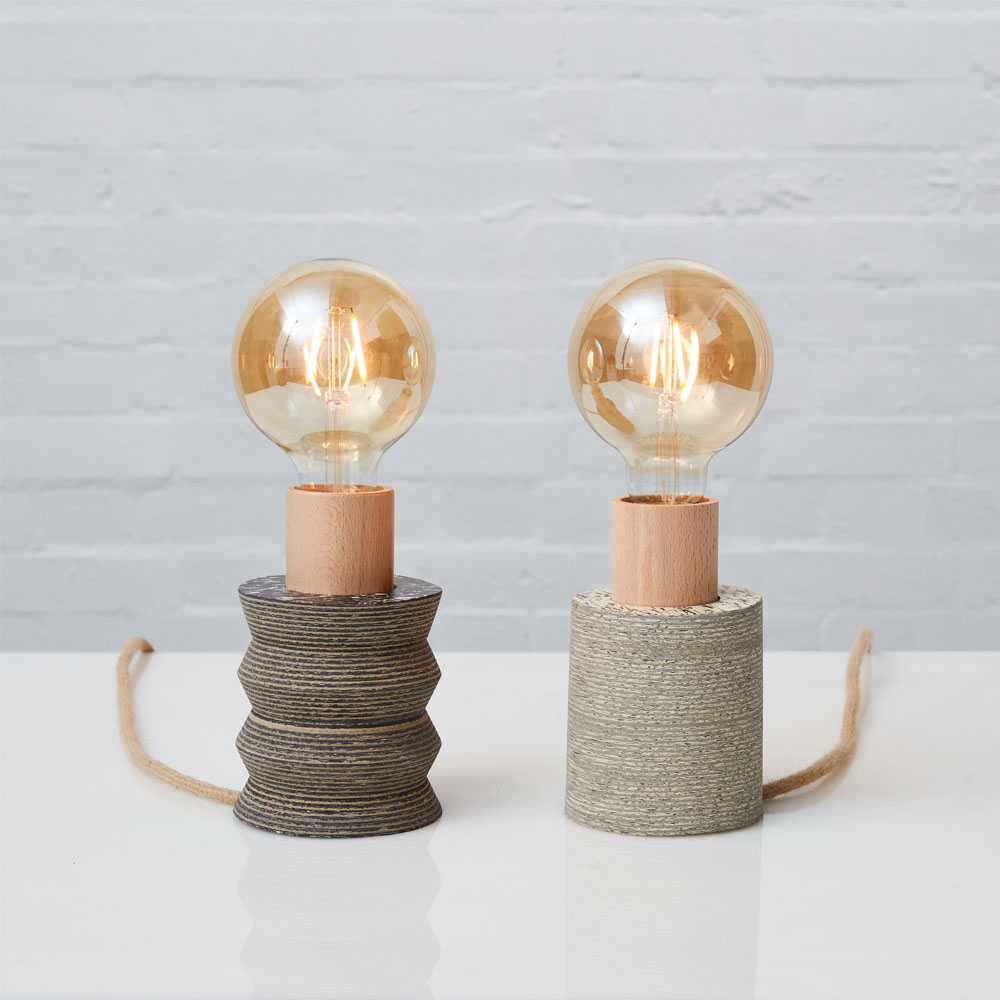 PRODUCT: BW STANDING LAMP